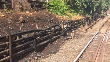 Cable Fire Remediation at Euston